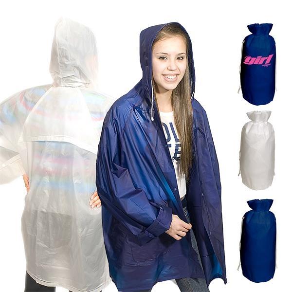 Rain Coat in 190T Nylon Bag