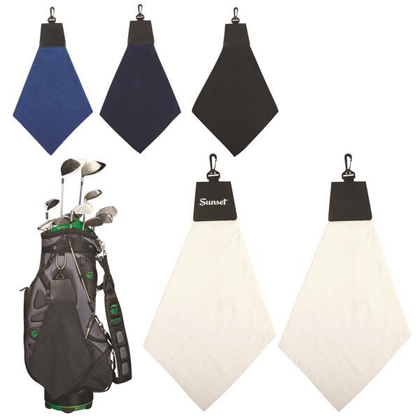 Foldaway towel