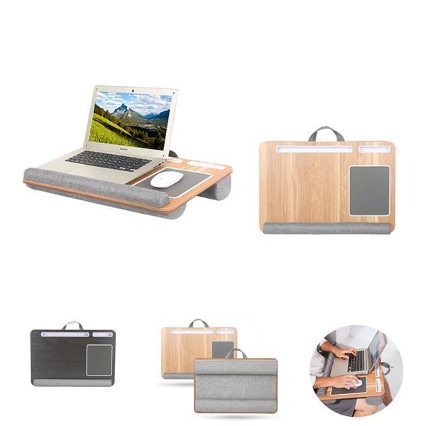 Multifunctional SOHO Lap Desk with Dual Cushion