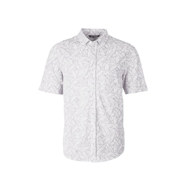 Reach Oxford Print Button Front S/S