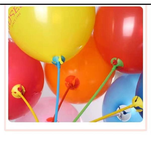 PVC balloon holder