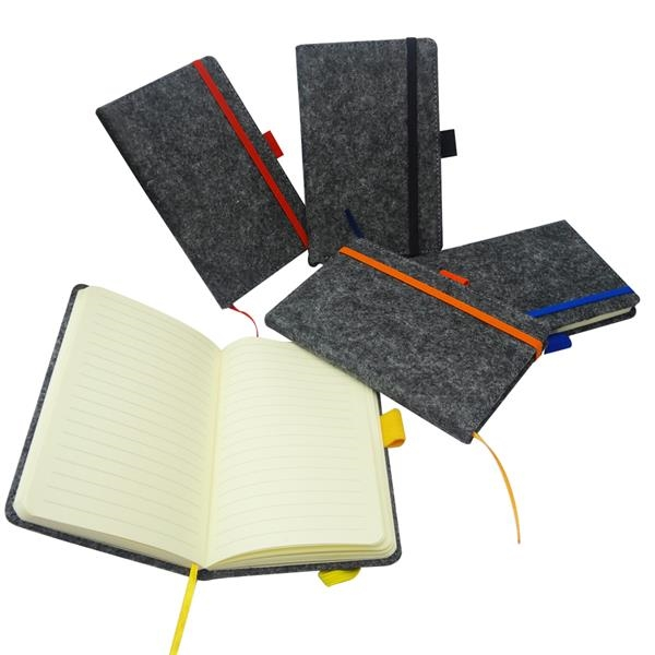 Felt Cover Journal Planner Notebook With Elastic Band