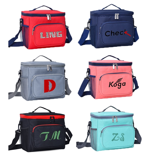 Portable Oxford Cloth Insulation Bag Picnic Lunch Bag Lunch