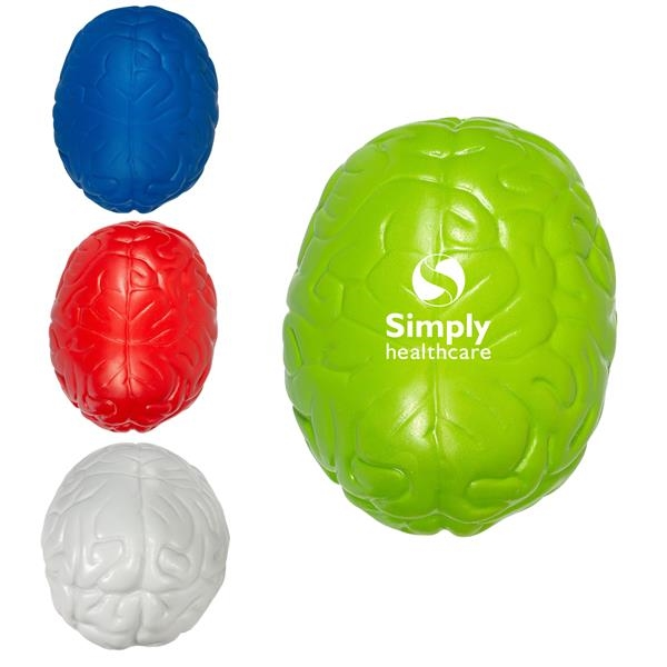 Handcrafted Red Brain Stress Reliver balls.