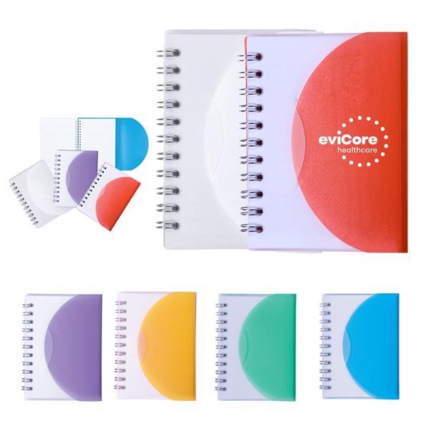 Mini wire-bound notebook