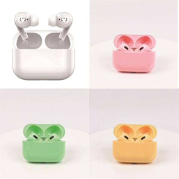 Brightly colored Bluetooth Wireless Touch Earbuds