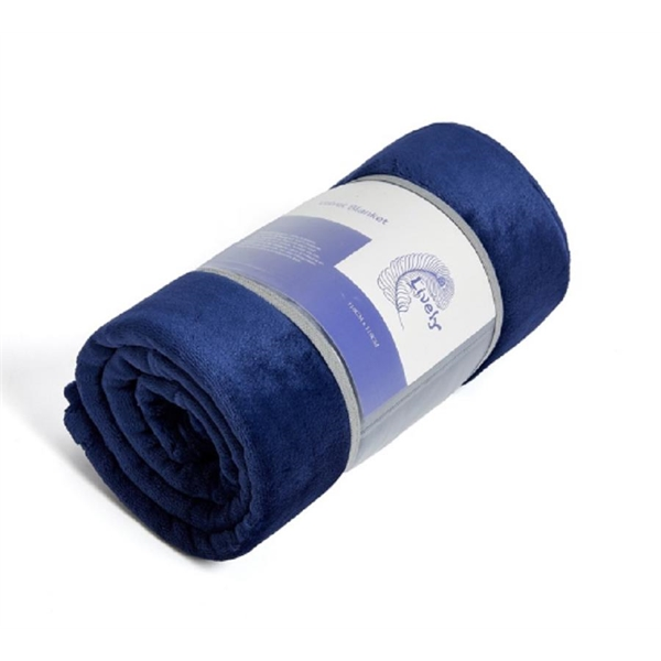 330gsm High-quality Flannel Blanket