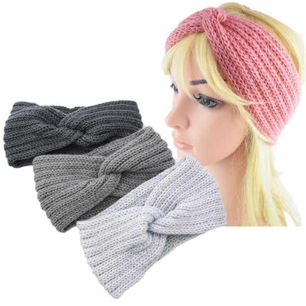Women's Knitted Turban Headband Ear Warmer Head Wrap