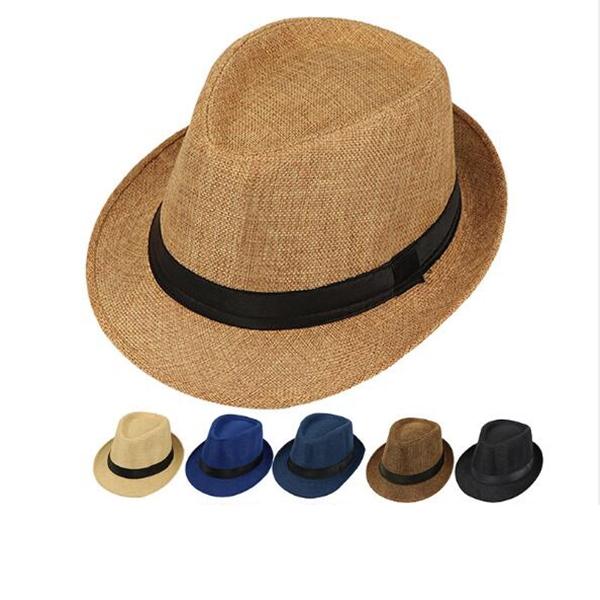 Fashion Retro Adult Jazz Hat