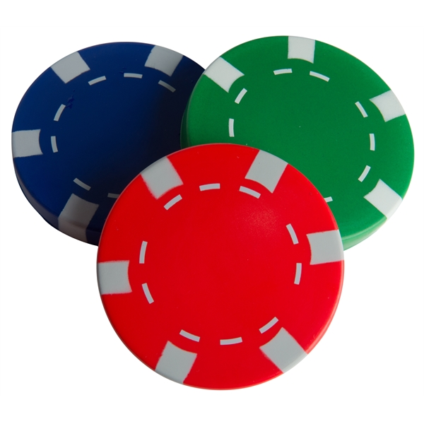 Squeezies (R) Casino Chip Stress Reliever
