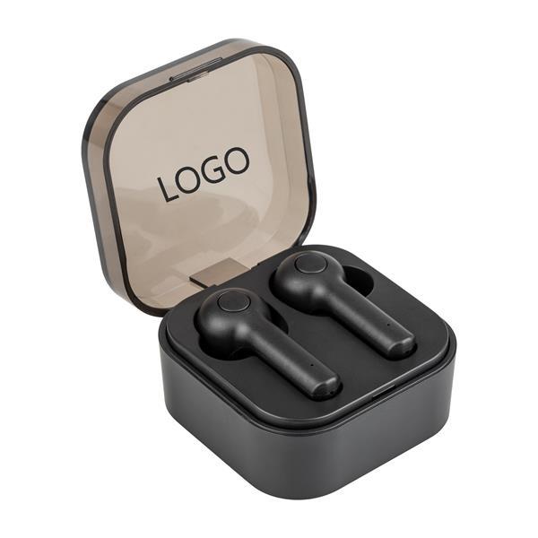 Transparent cover earphone box Bluetooth wireless