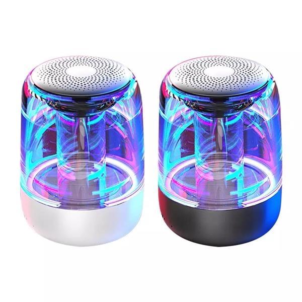 Transparent With LED TWS Bluetooth Wireless Speaker