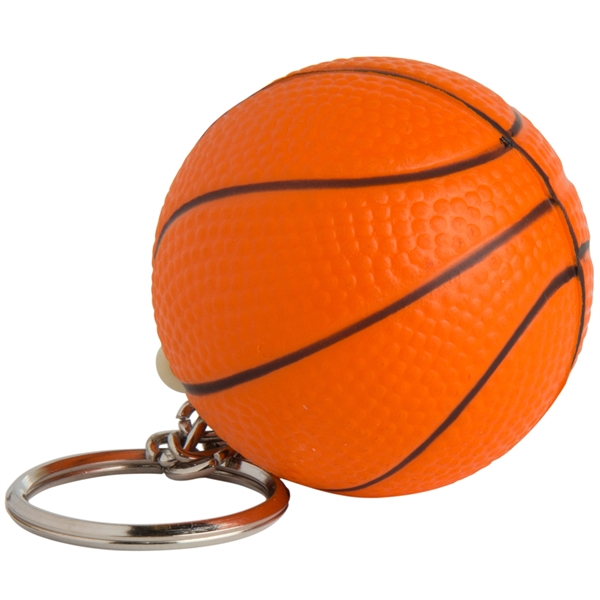 Squeezies (R) Basketball Keyring Stress Reliever