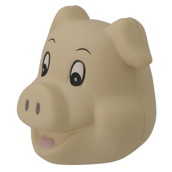 Squeezies (R) Cute Pig Head stress reliever