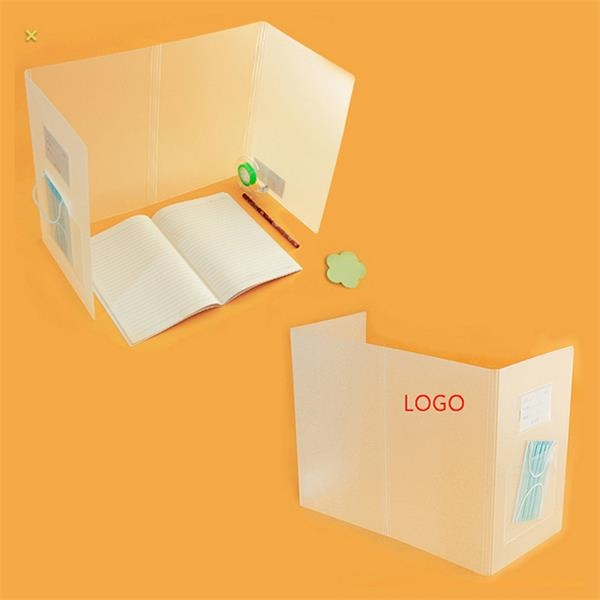Foldable PP Protective Shield Isolation Board Desk Shield