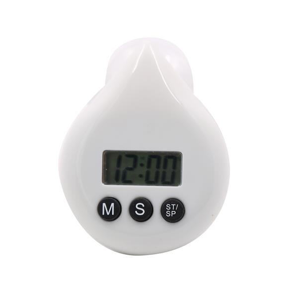 Water-drop LCD Shower Timer