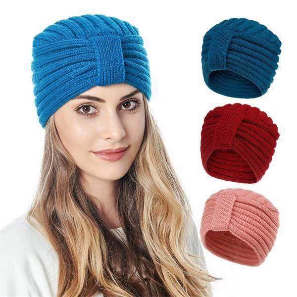 Fashion Knitting Solid Skullies Hat