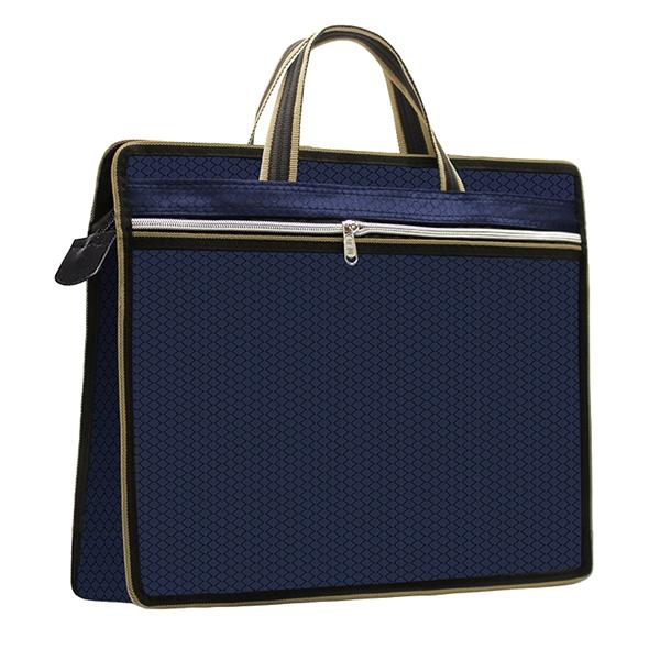Business Briefcase Zipper Document Bag Messenger