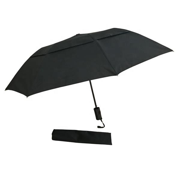 Automatic Double Layer Travel Umbrella 2 Fold Umbrella