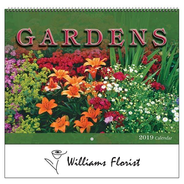 2021 Gardens Wall Calendar - Spiral