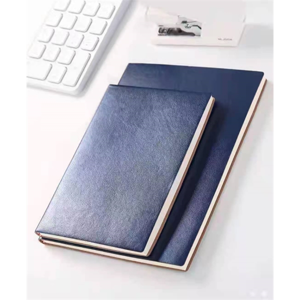 A5 PU sleeve business looped notebook with customized logo