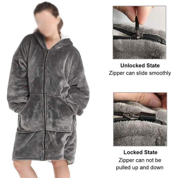 Oversized Sweatshirt Blanket