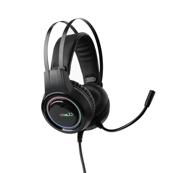 Headset Gaming Confortable Casque Microphone Headphones