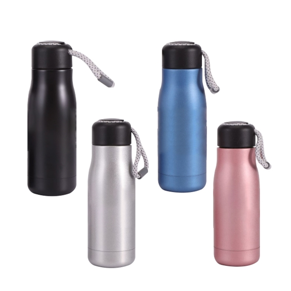 12oz Double Wall Stainless Steel Insulated Water Bottle