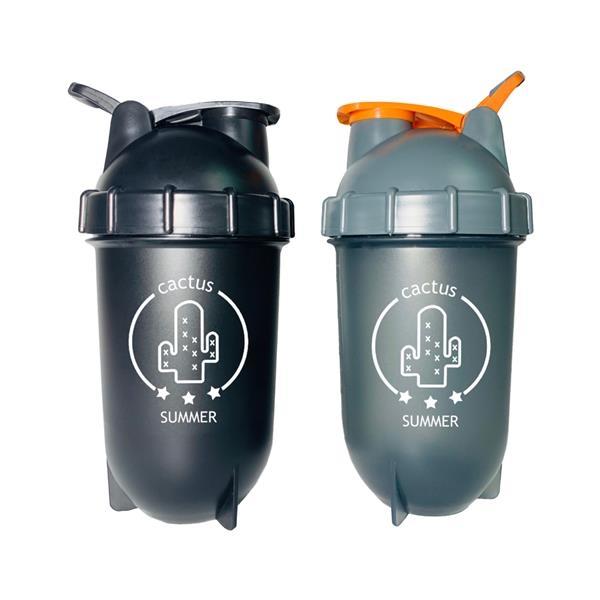 Capsule Blending Protein Milk Shaker Bottle