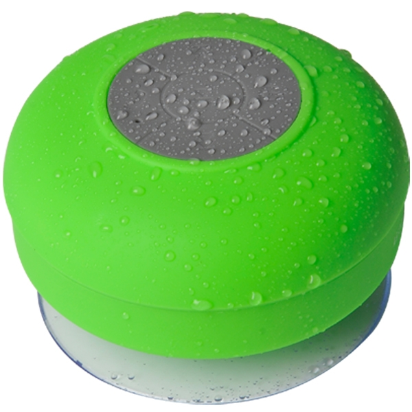 Round Silicone Waterproof Bluetooth Wireless Speaker