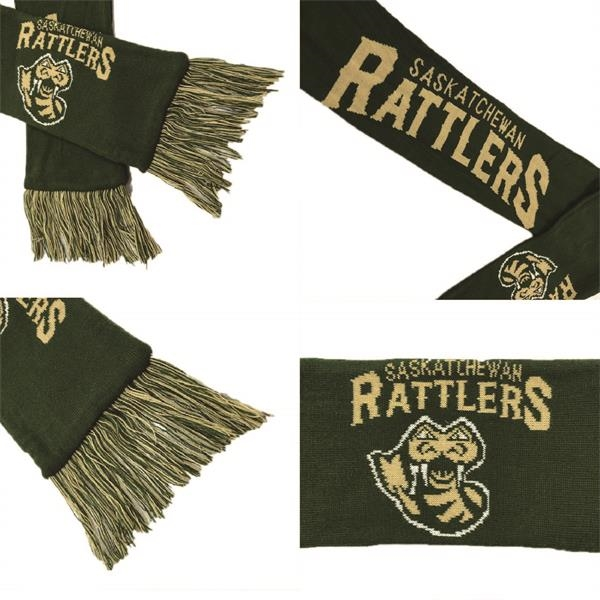 Knit Acrylic Sport Scarves