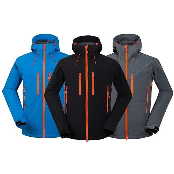Outdoor Soft Shell Waterproof And Breathable Windproof Jacke