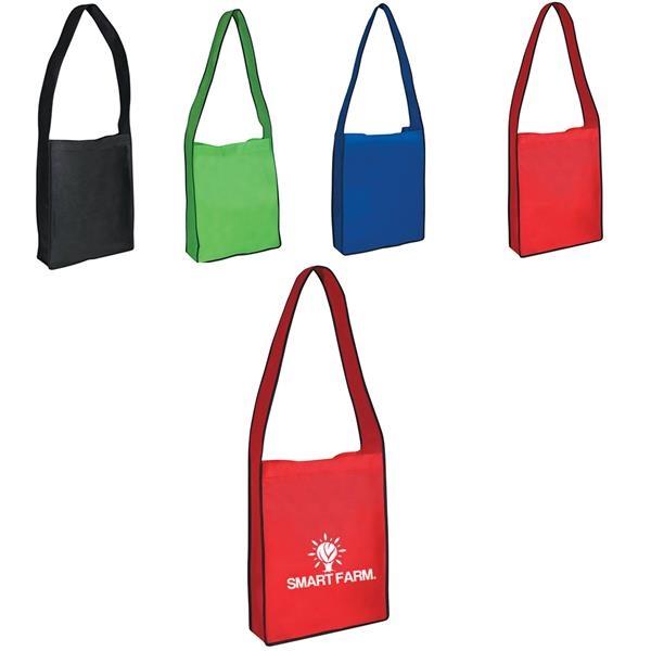 Non-woven Messenger Tote Bag
