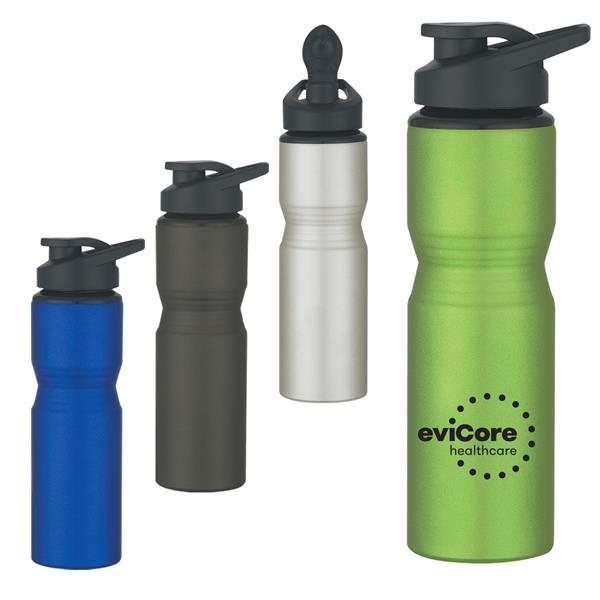 Metal Sports Bottle