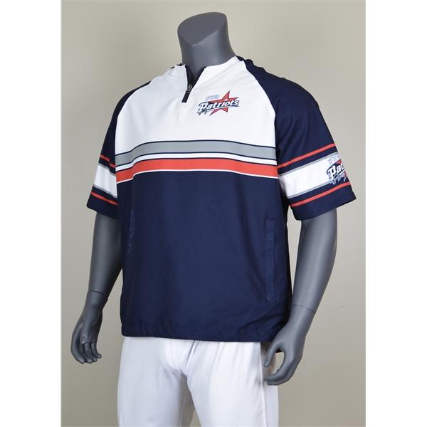 Sublimated 1/4-Zip Short-Sleeve Cage Jacket