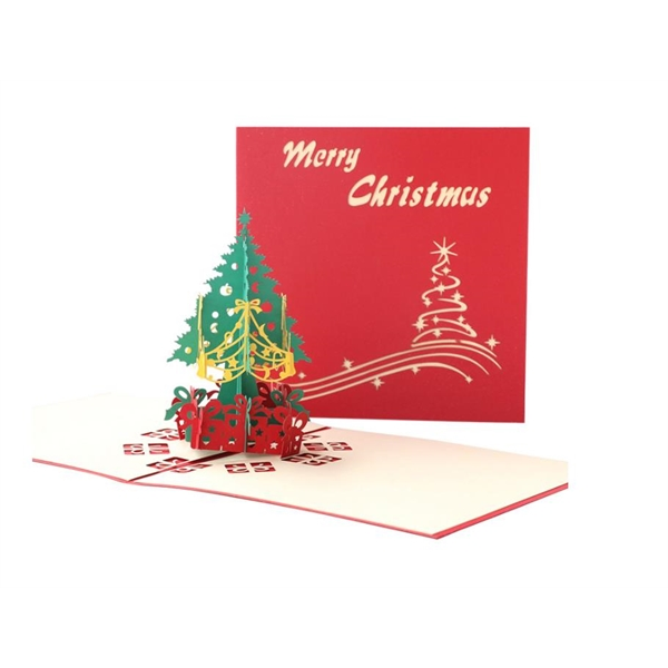 3D Christmas Tree Greeting Card