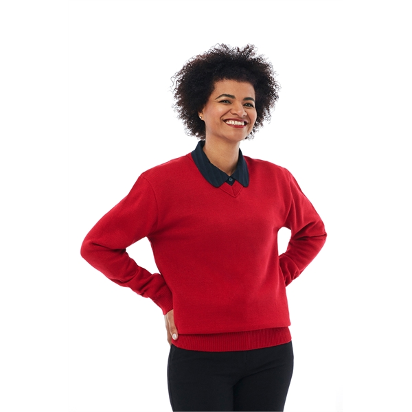 V-Neck Long Sleeve Pullover - Clearance