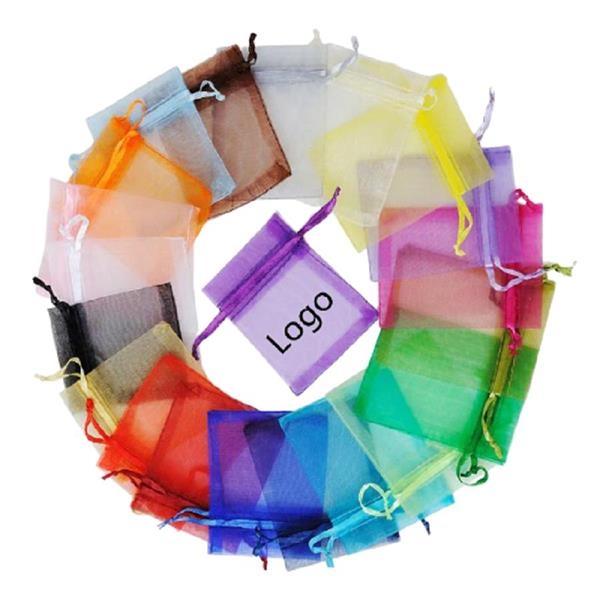 "4"" x 6"" Drawstring Organza Wedding Party Christmas Gift Bags"