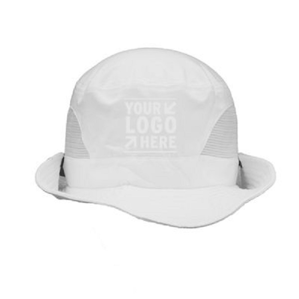 Foldable White Bucket Hat