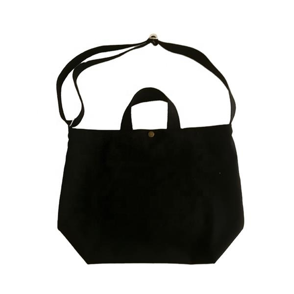 Double Handle Canvas Tote Shopping Bag w