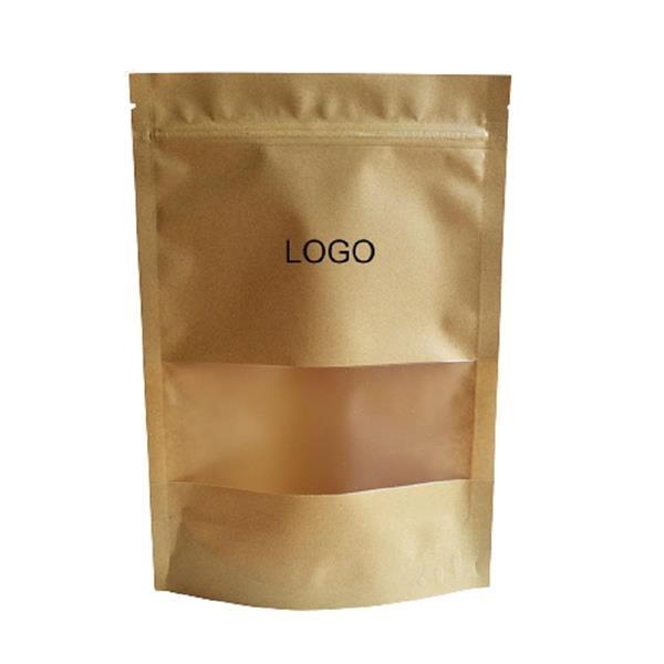 Kraft Paper Bag with Transparent Window