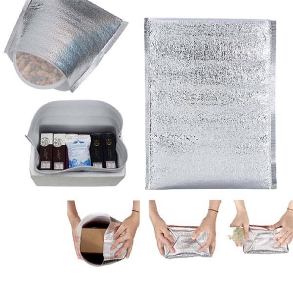 Disposable Insulated Aluminum Thermal Takeaway Bag