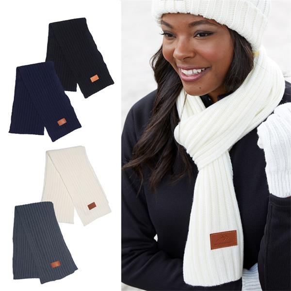 Leeman™ Rib Knit Scarf