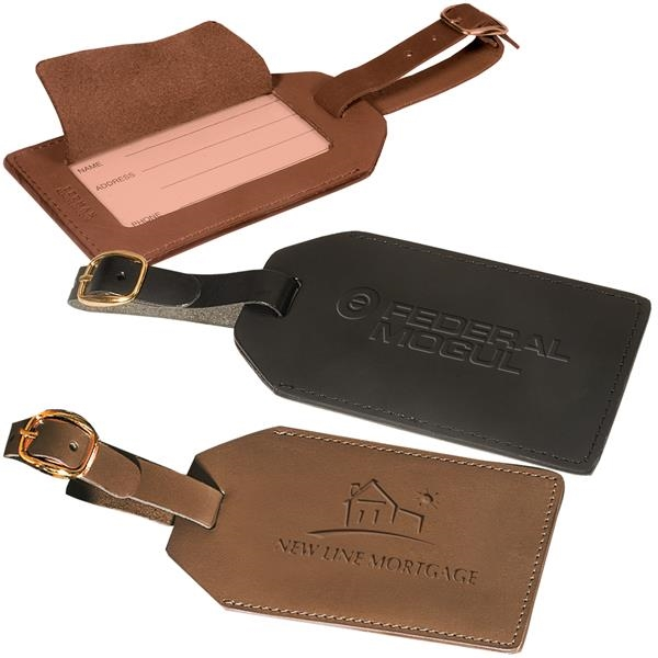 Grand Central Luggage Tag (Sueded Full-G