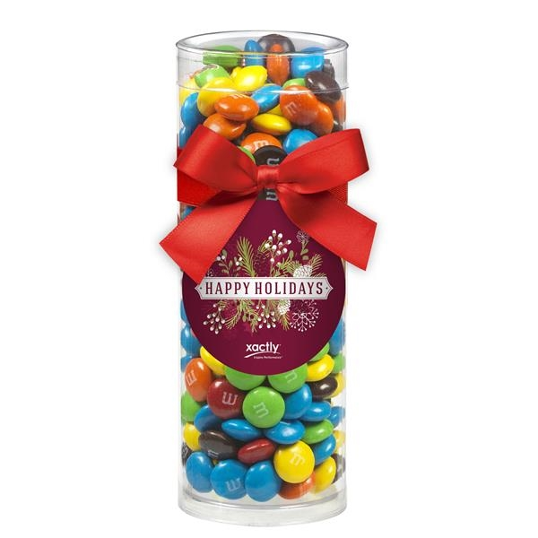 Small Elegant Gift Tube with M&M's®