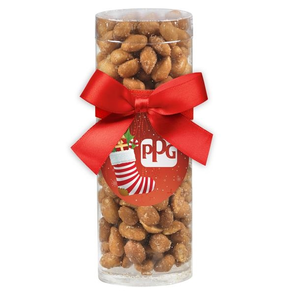 Small Gift Tube with Honey Roasted Peanuts