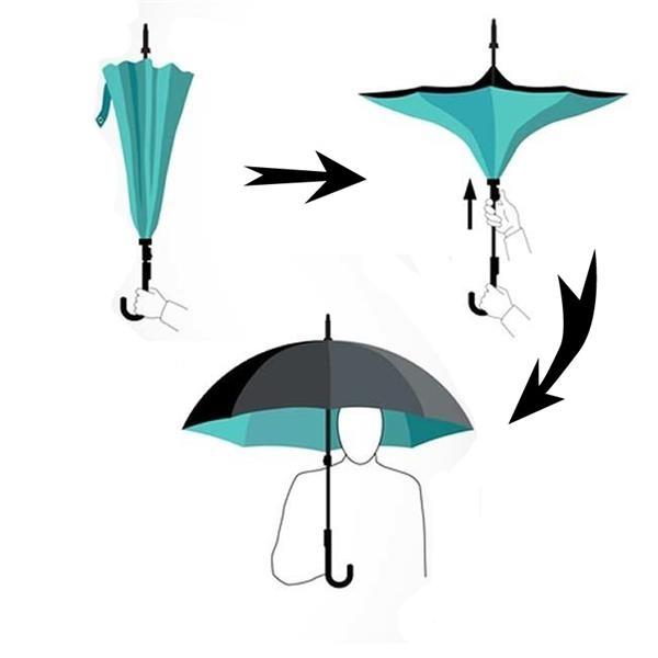 The Dali Full Digital Custom Car Umbrella