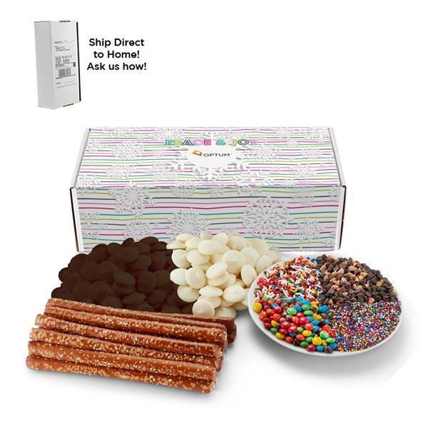 DIY Chocolate Pretzel Kit in Mailer Box