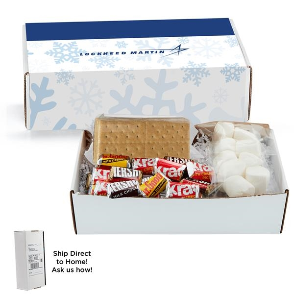Microwave S'mores Kit In Small Mailer Box