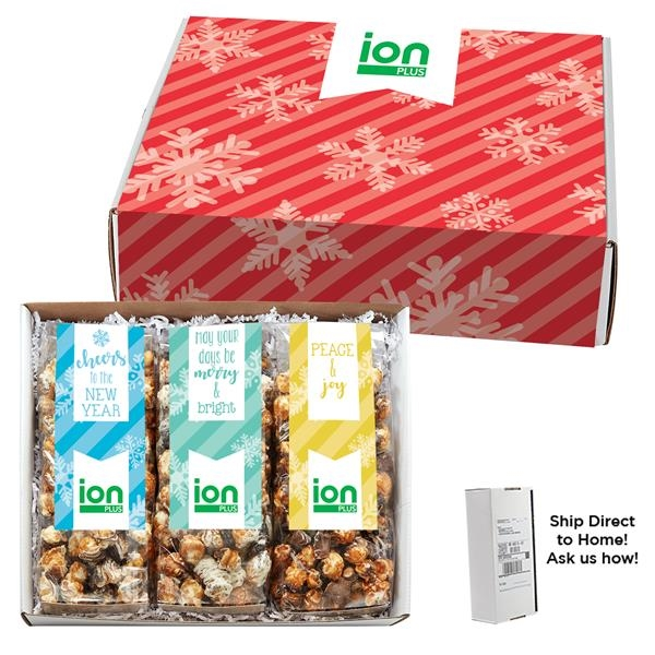 3 Way Gourmet Popcorn Gift Box